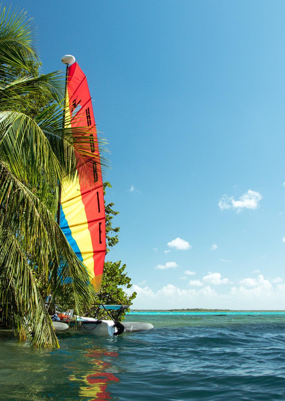 Bacalar Lagoon Water Sports
