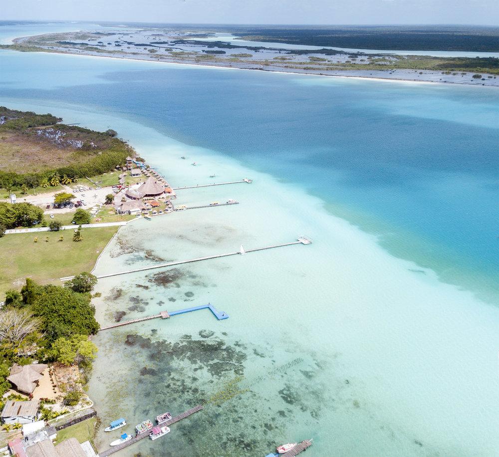 Bacalar, Mexico - Lagoon of Seven Colours