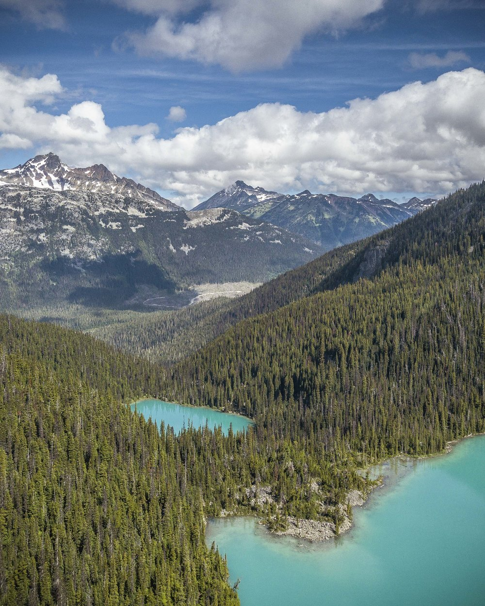 Joffre Lakes - Sea to Sky Highway