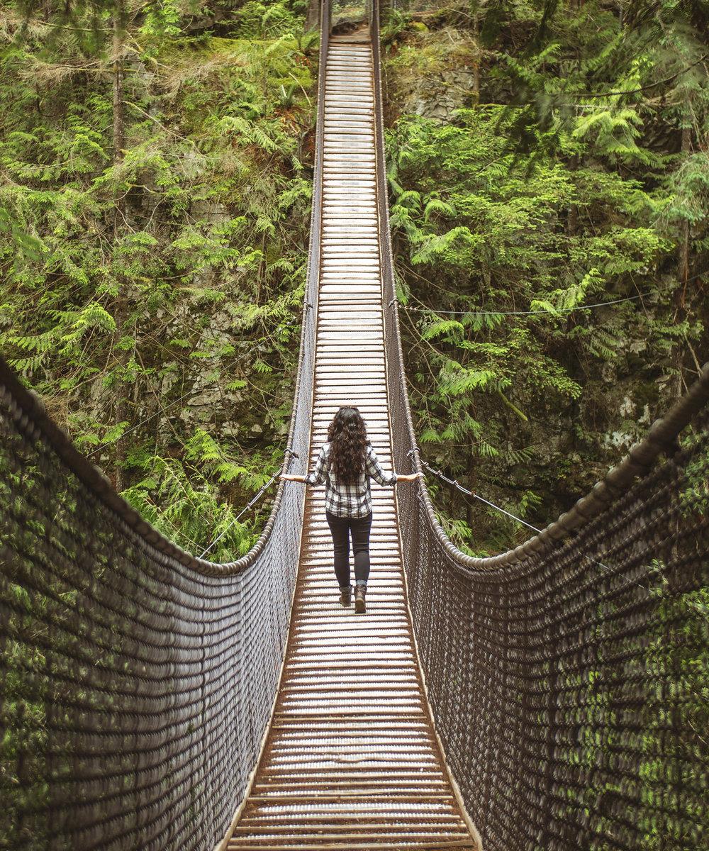 Lynn Canyon Suspension Bridge - Sea to Sky Highway