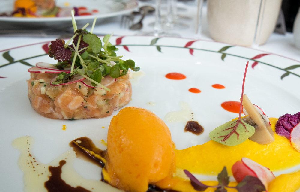 Salmon Tartare - L'Orangerie Chenonceau