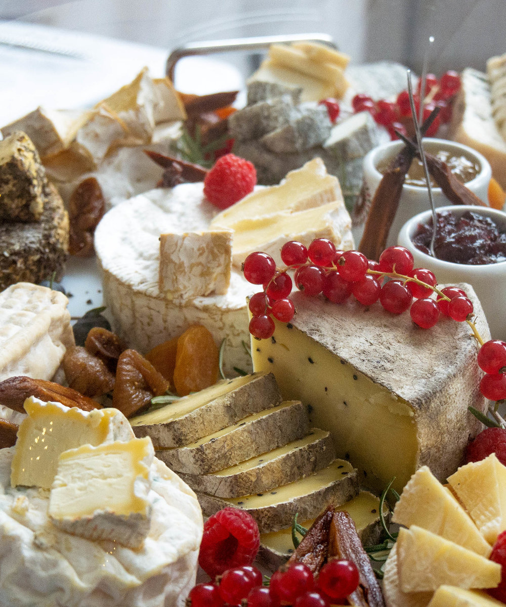 French Cheese Platter - L'Orangerie Chenonceau