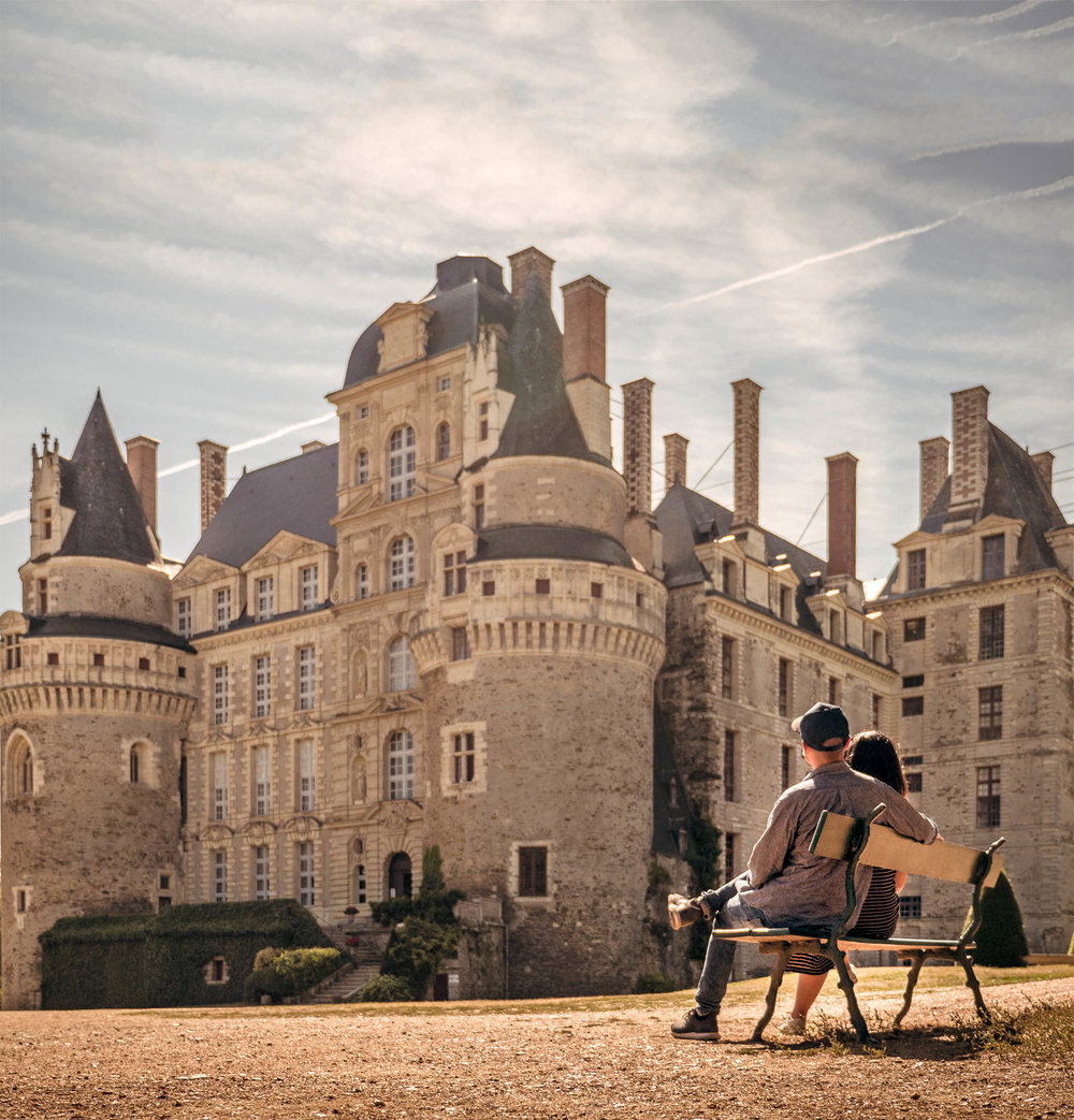 Chateau de Brissac - Loire Valley France