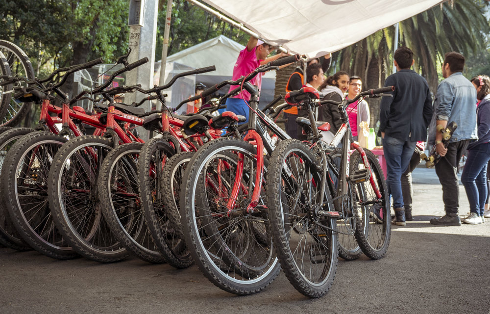 Free Sunday Bike Rides in Mexico City