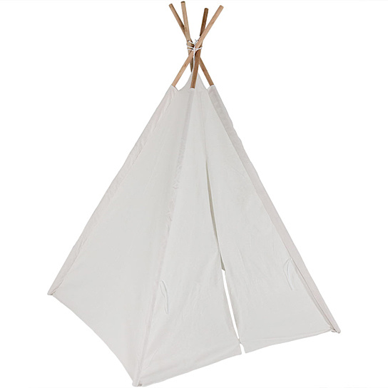 white play teepee tent