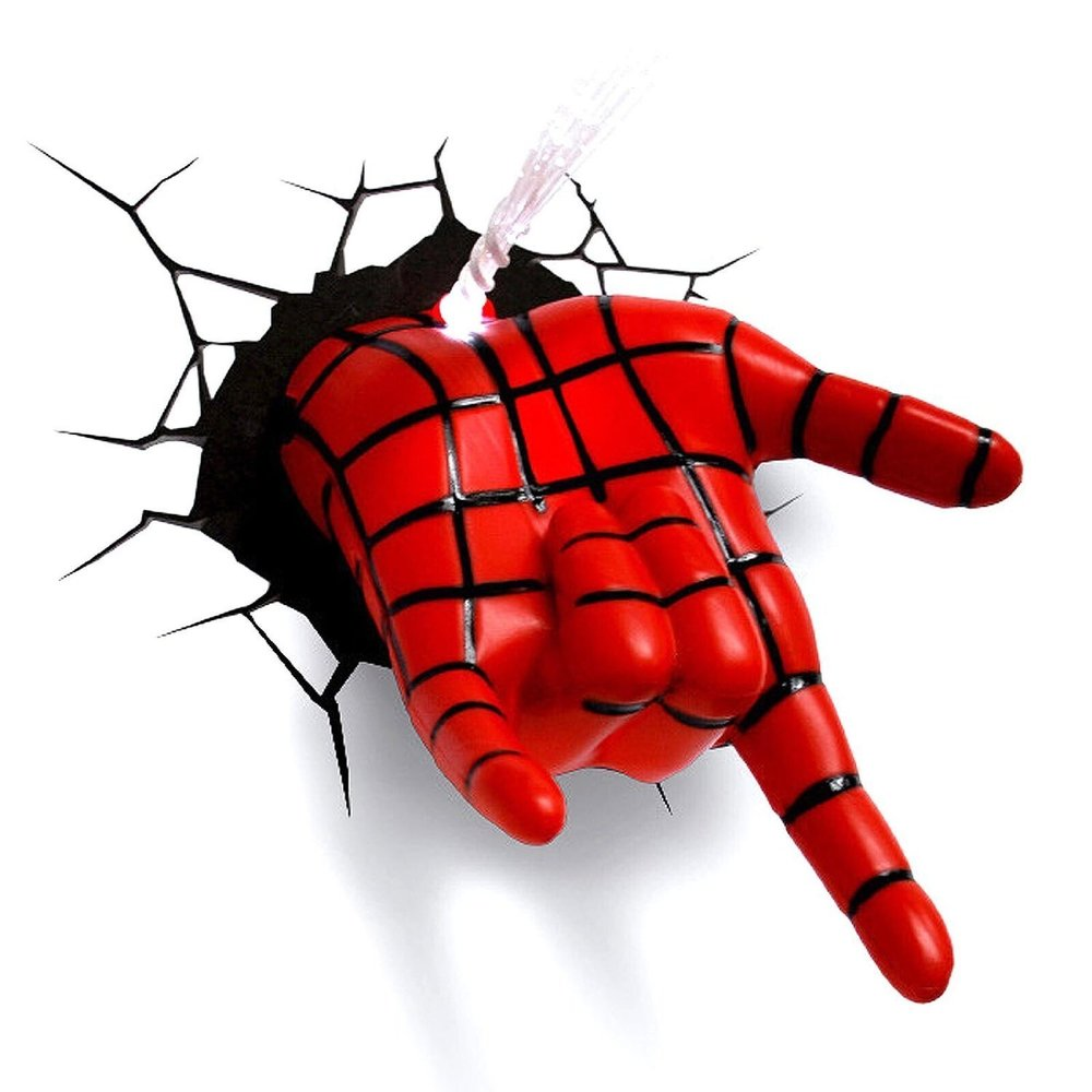 spider man hand light