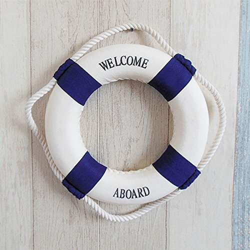life preserver wall hanging