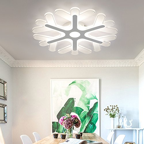 frozen snowflake ceiling light
