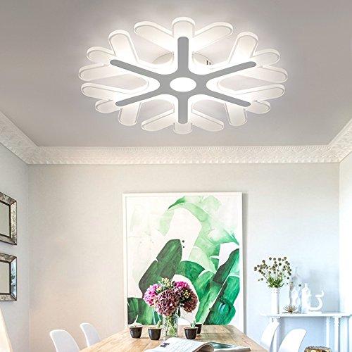 frozen snowflake ceiling light