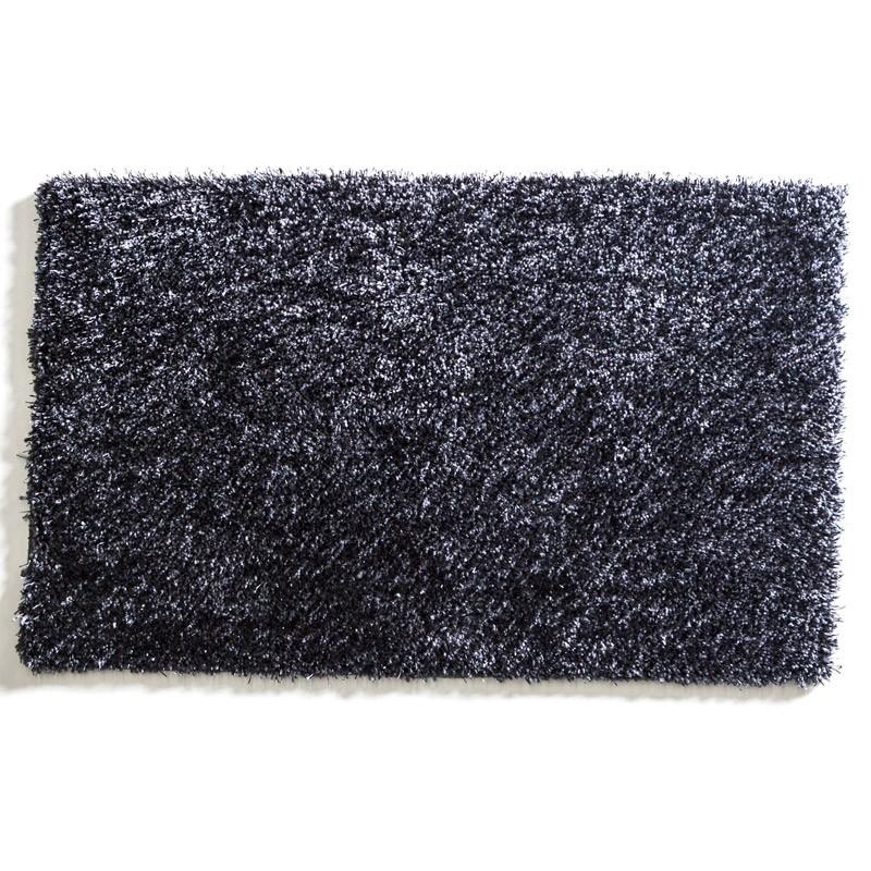 grey shag rug