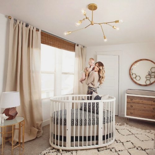 hula oval crib
