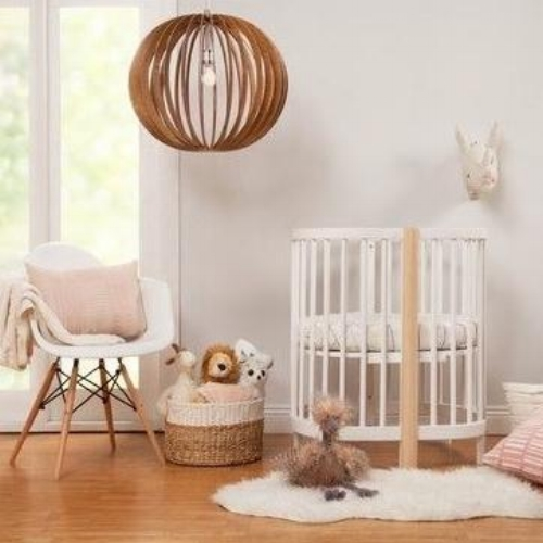 oval convertible crib