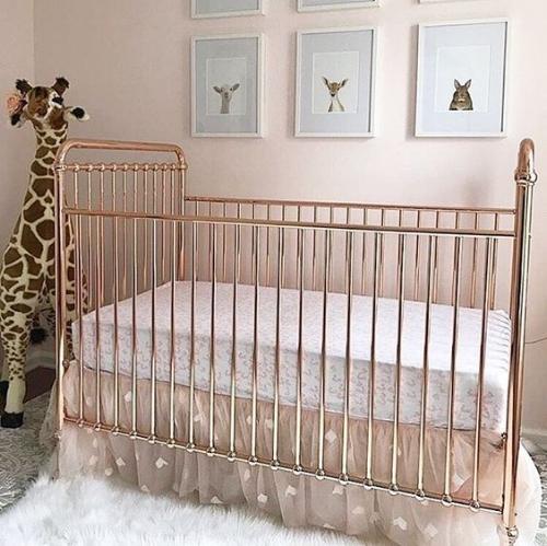 gold crib