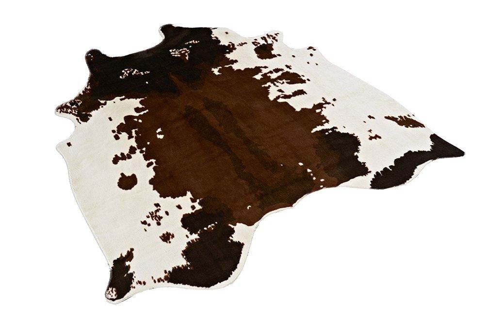 faux cow print cow hide rug