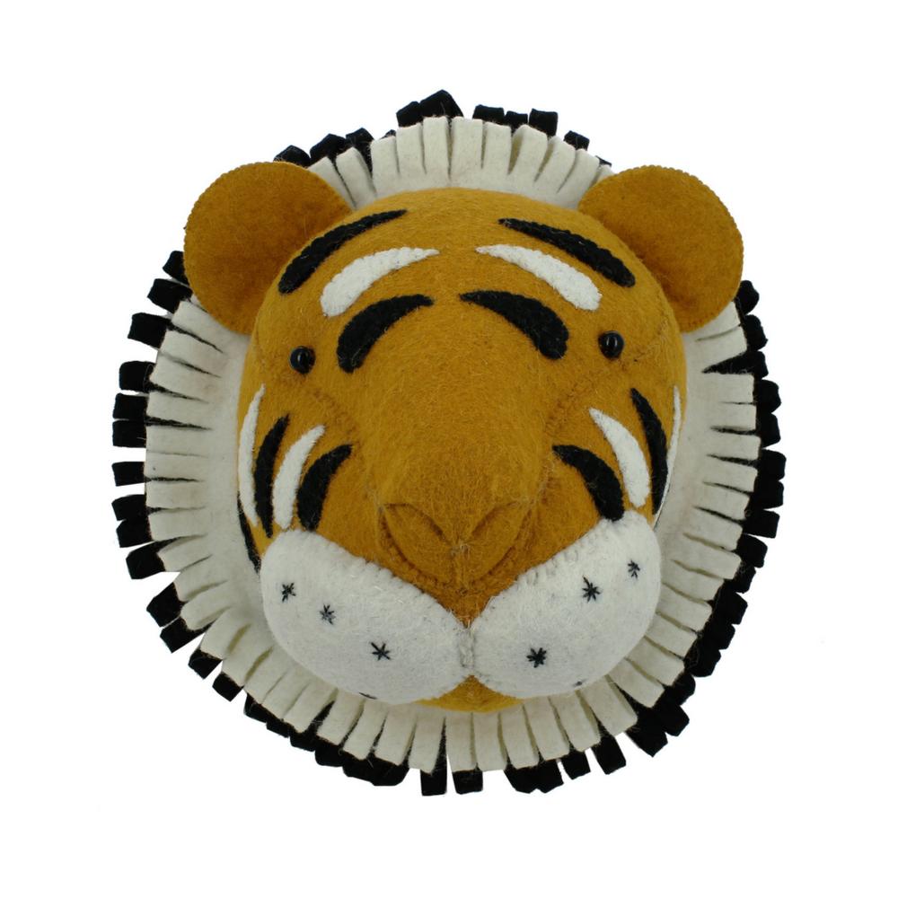 tiger head wall decor