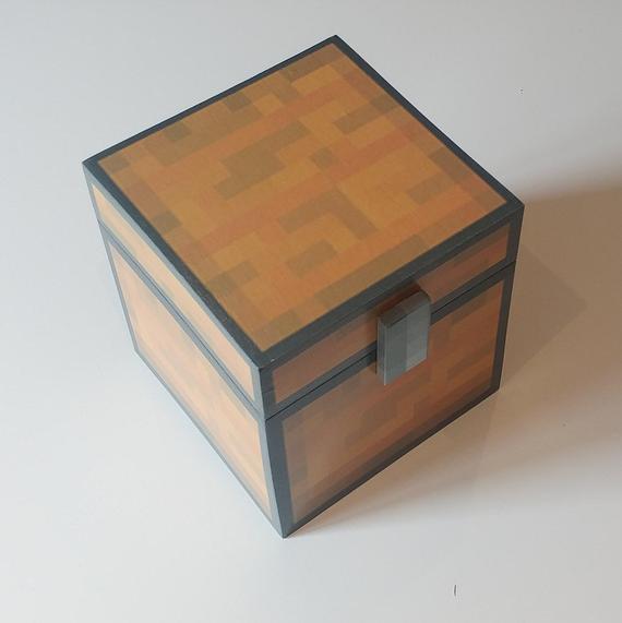 minecraft chest decor
