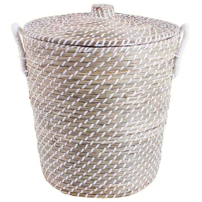 natural basket laundry hamper