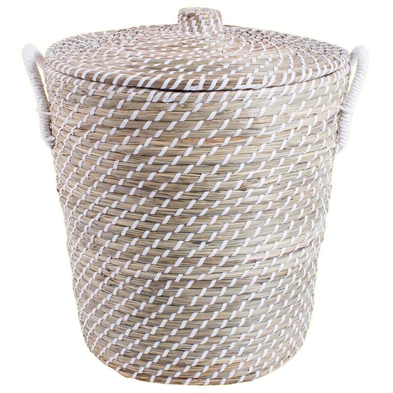 natural basket laundry hamper