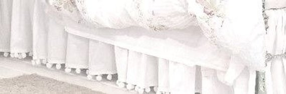 tassel fringe crib skirt