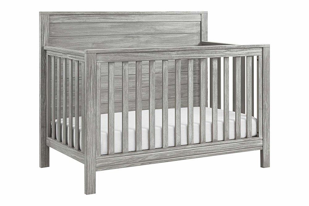 rustic distressed farmhouse style crib