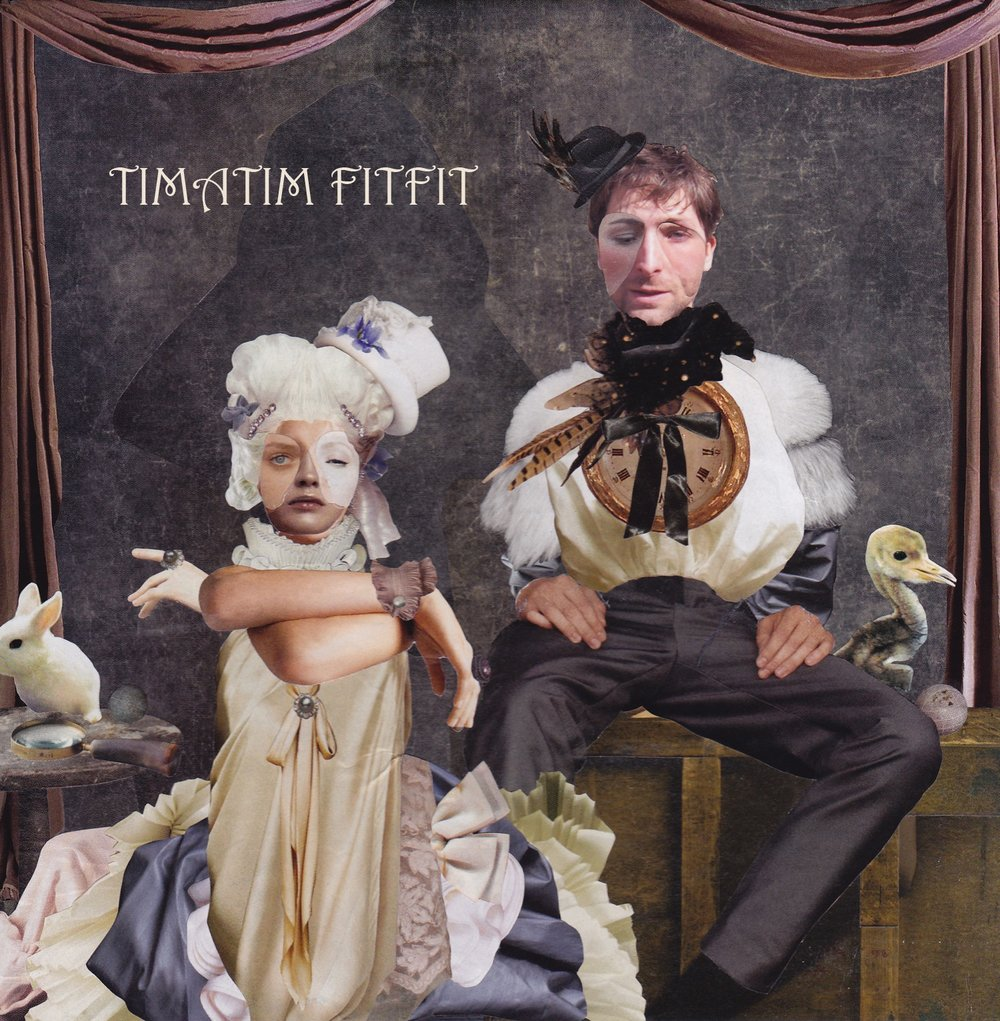 Timatim Fitfit EP - Album Artwork by Vahge (www.vahge.com)