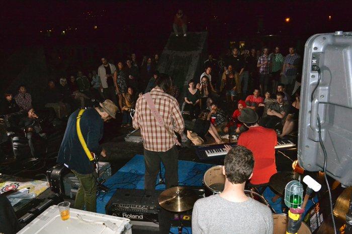 On the Dans' Roof: Bushwick 2012