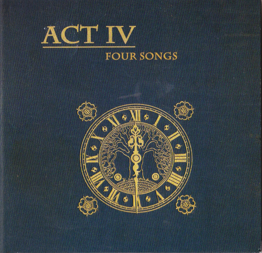 TTFF early incarnation Act IV - Four Songs album Artwork 2009