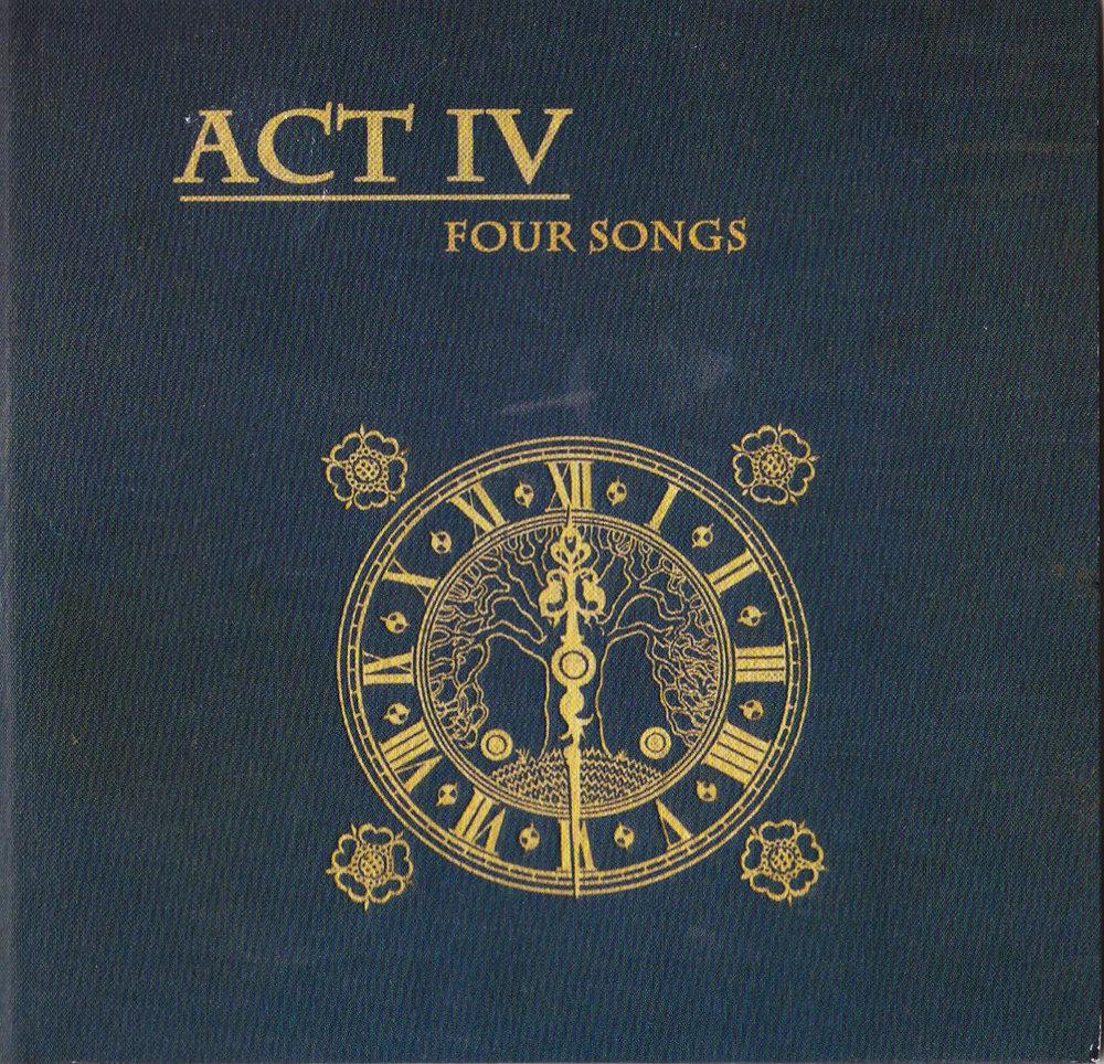 TTFF early incarnation Act IV - Four Songs album Artwork 2009