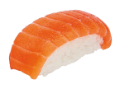 Did somebody say salmon nigiri? Heck yeah.
