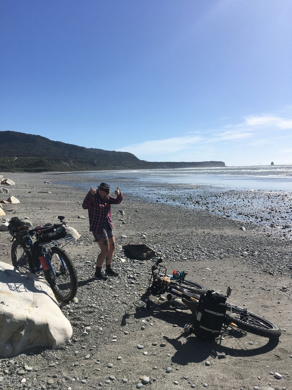 From the North East to the West Coast phew made back to the ocean! Truly emotional feeling to see the coast again!! South Island, NZ surly gang tour 2016/2017