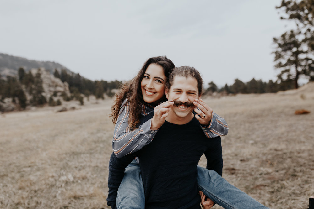 Sarah & Nicholas Colorado Engagement 1
