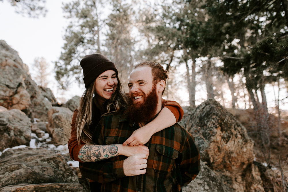 Heather & Joshua Colorado Couples Engagement Mountain Outdoor Session-7.jpg