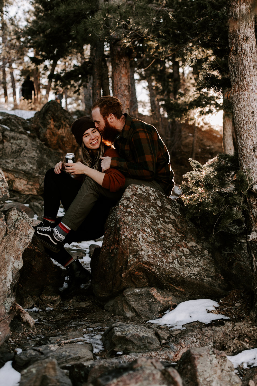 Heather & Joshua Colorado Couples Engagement Mountain Outdoor Session-18.jpg