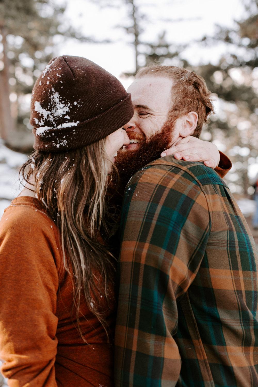 Heather & Joshua Colorado Couples Engagement Mountain Outdoor Session-49.jpg