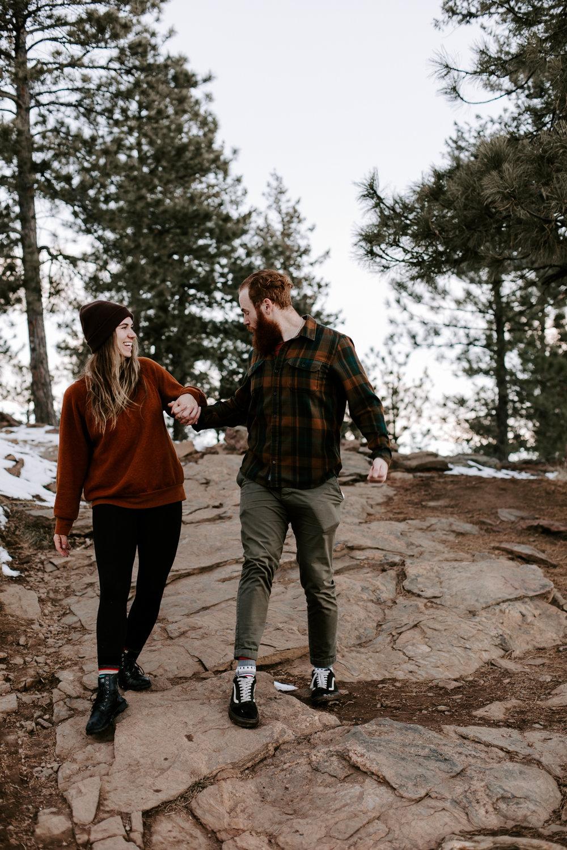 Heather & Joshua Colorado Couples Engagement Mountain Outdoor Session-65.jpg