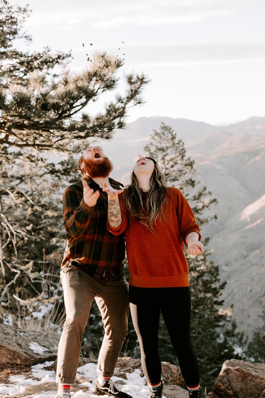 Heather & Joshua Colorado Couples Engagement Mountain Outdoor Session-110.jpg