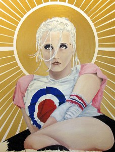 """Tank Girl"" by Andres Conde SOLD"