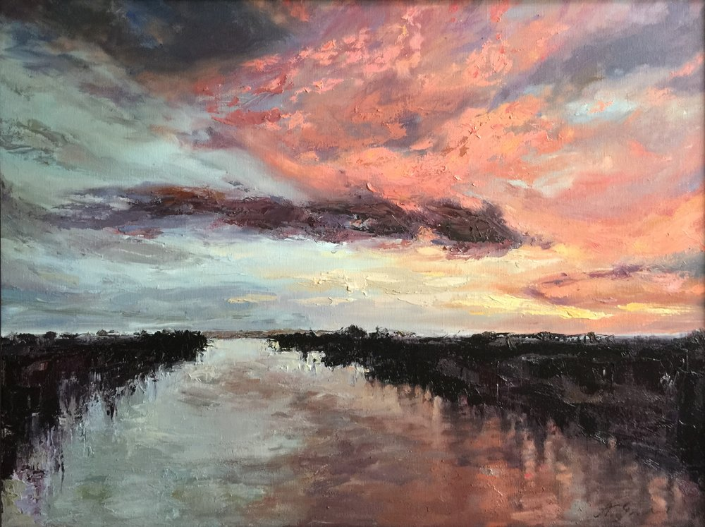 Sunset Canal, 2016