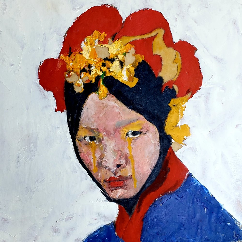 Chinese Girl with Yellow Eyes, 2018