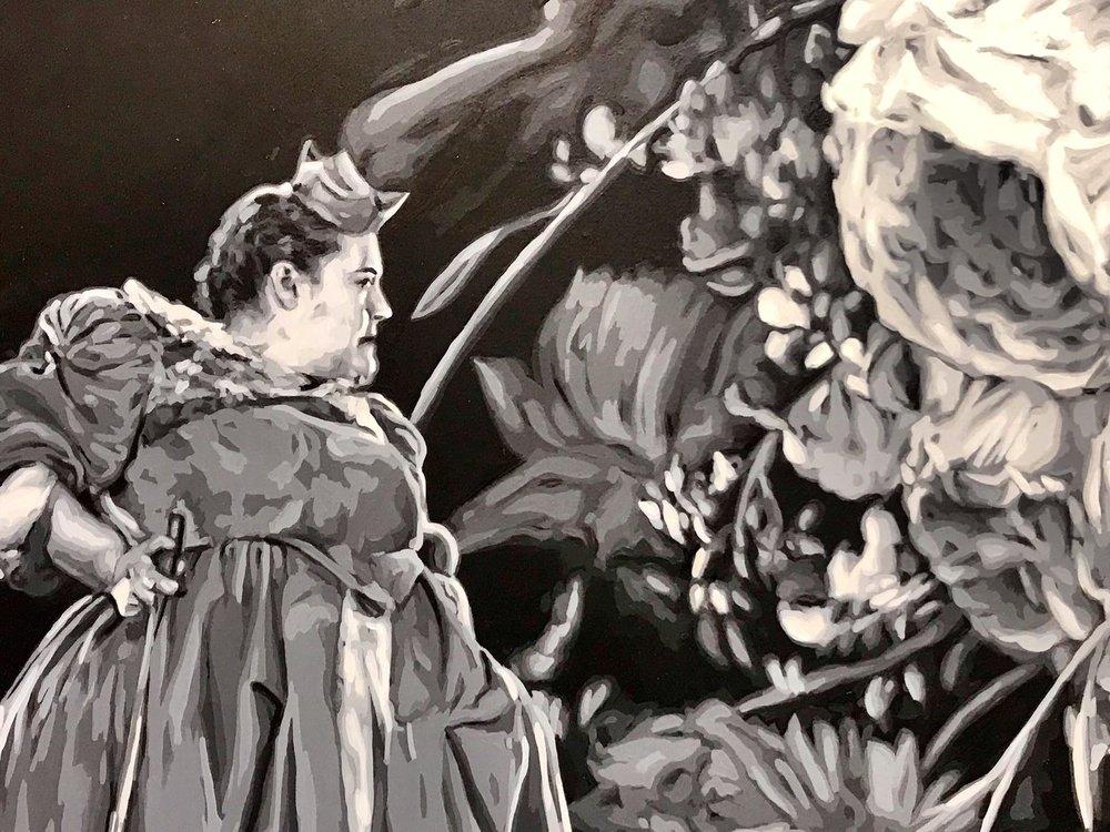 """Detail of  """"Figure 9""""  by Ruben Torres Llorca Image by Natasha Kertes"""