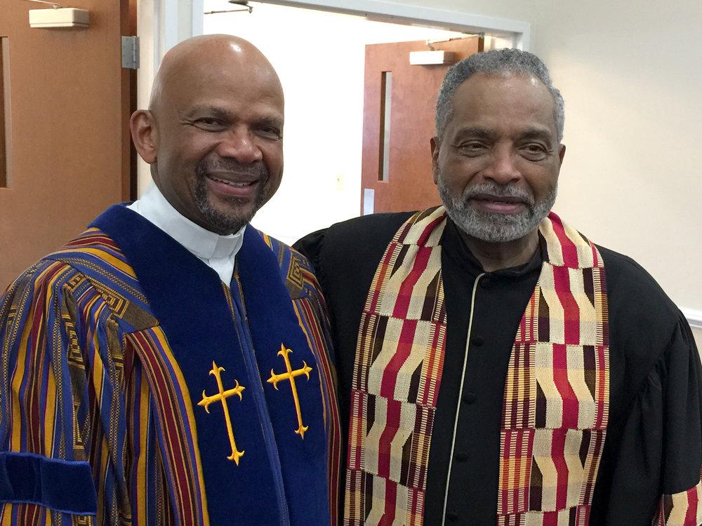 Rev. Bob Fields and Pastor Welton Fields