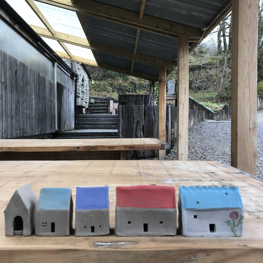 Houses made in my workshop.