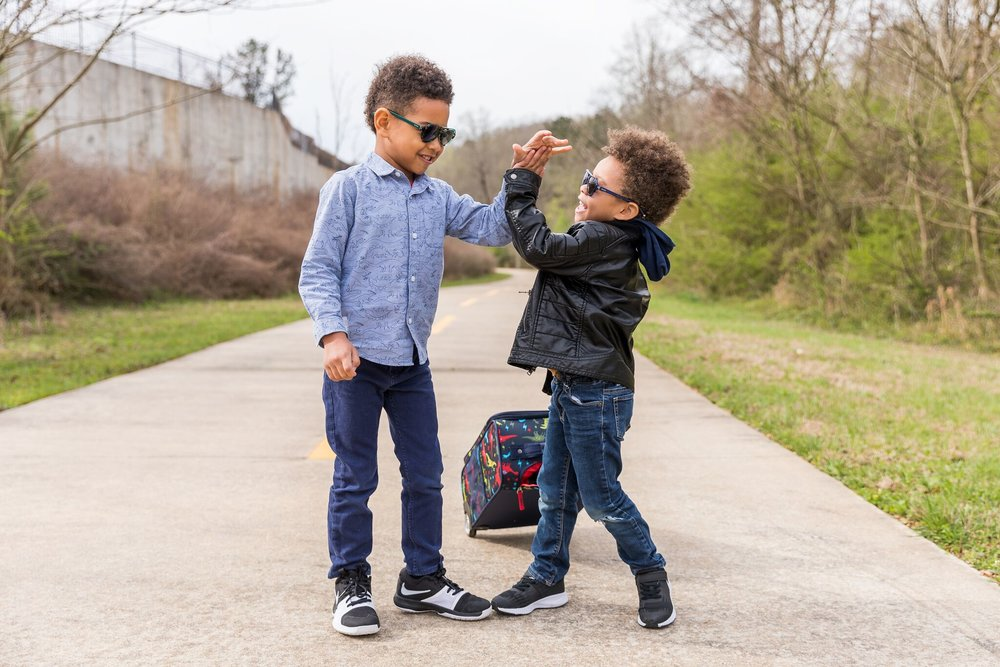Photos by  Mecca Gamble  | Sunglasses from  Toucca Kids