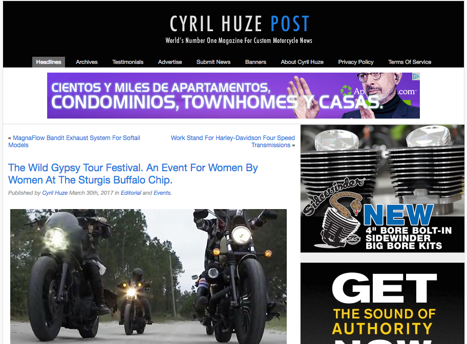 http://cyrilhuzeblog.com/2017/03/30/the-wild-gypsy-tour-festival-an-event-for-women-by-women-at-the-sturgis-buffalo-chip/