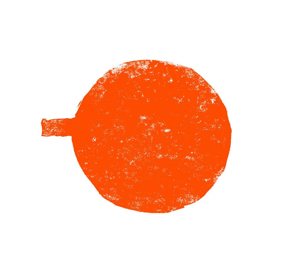 """Poêlon - Si vous ne le saviez pas déjà, Kawali signifie poêlon en tagalog, un dialecte originaire des Philippines. On a voulu illustré cet batterie de cuisine de manière abstraite. L'ajout de texture dans la forme vient donner un effet plus brute qui rappelle la texture d'une cuisson.PANKawali is a word which mean """"pan"""" in Tagalog, a native dialect of the Philippines. Based on this idea we wanted to illustrate a pan in a more abstract way. By adding texture to the object, we were able to give it an appearance reminiscent of a cooking meal."""