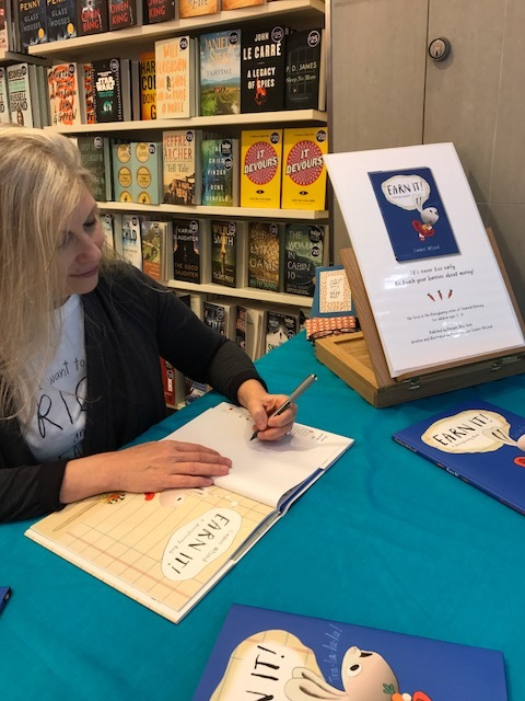 First signing at Indigo (Indigospirit), First Canadian Place, Bay & King, Toronto and the books sold out again! Wonderful staff and such amazing conversations with the customers.