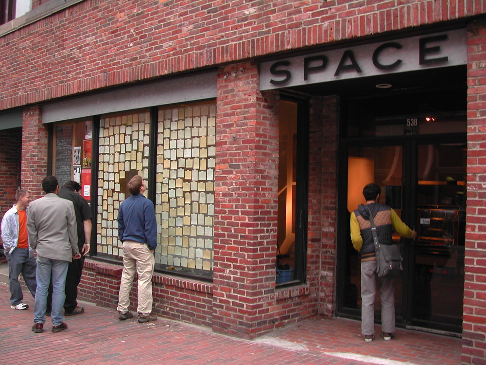 what haunts… , installation view, Space, Portland, ME,  2005