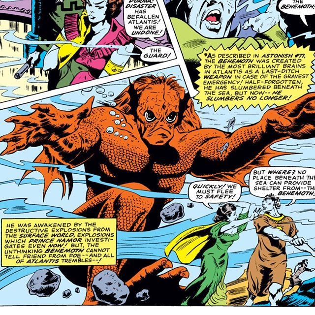 #Namor fights the Behemoth in this weeks podcast where we cover Tales to Astonish 79 and 80!