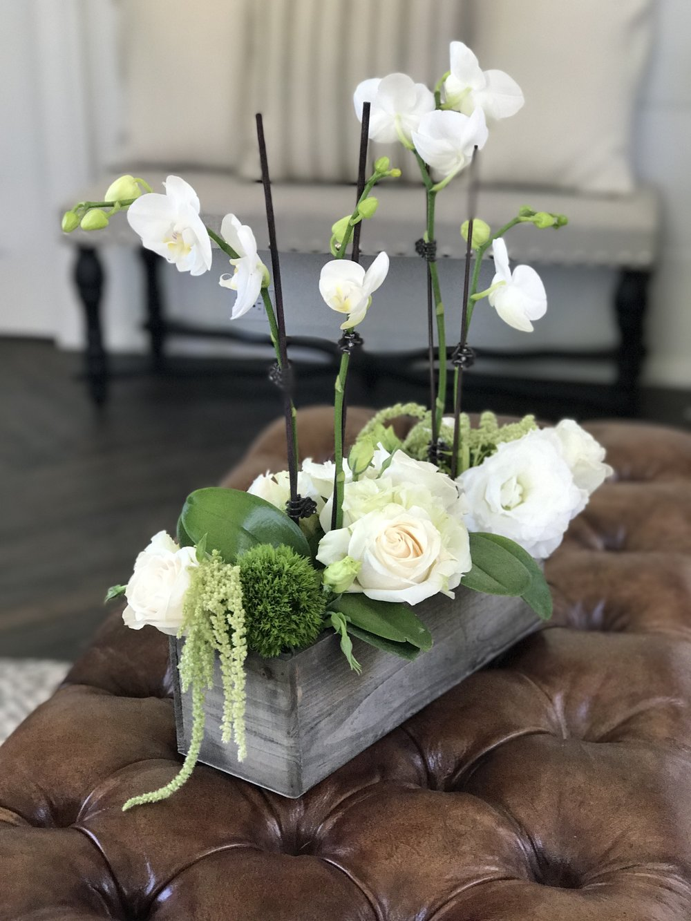 I made one extra arrangement for our house!