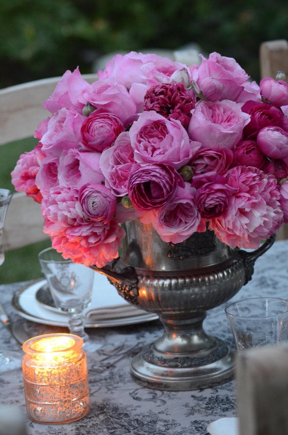 David Austin Roses and Peonies